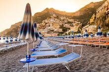 Beach Of Positano