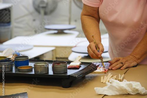 Fototapeta Encaustic Painting Classes obraz na płótnie
