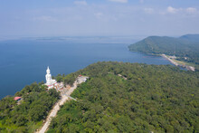 Aerial View Shot Of Khon Kaen ...