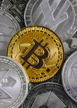 Gold Bitcoin Coin Dominates Th...