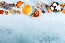 Christmas Banner With Copy Spa...