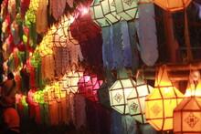 Paper Lanterns In Thai Style