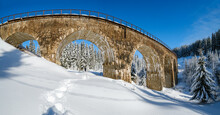 Stone Viaduct (arch Bridge) On...