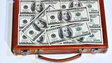 Suitcase Full Of 100 Dollar Bi...
