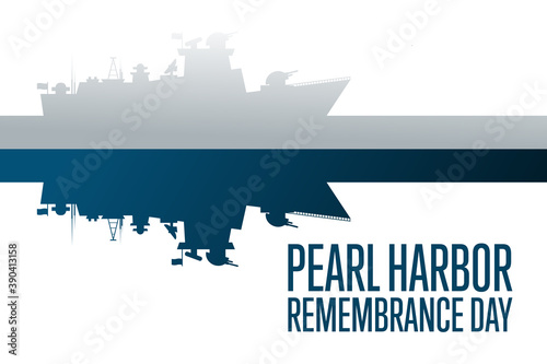 Fototapeta National Pearl Harbor Remembrance Day