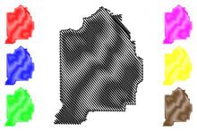 Evangeline County, Louisiana (U.S. County, United States Of America, USA, U.S., US) Map Vector Illustration, Scribble Sketch Evangeline Parish Map