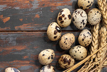 Eggs Of A Quail With Wheat Con...