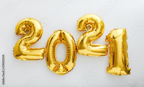 Fototapeta 2021 balloon text on white background
