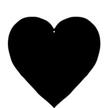 Decorative Silhouette Of Heart...