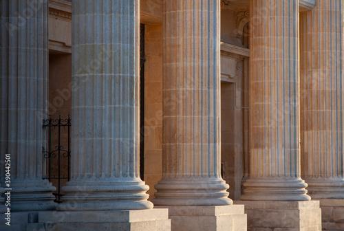 Fotografering colonnes palais de justice