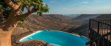 Pool With Namibian Desert View