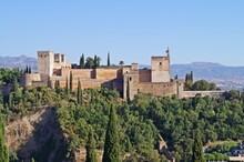 Vista Panorâmica De La Alhambra / Granada / Espanha