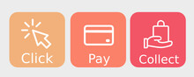 Click Pay Collect Orange