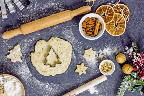 Fotografia Gluten Free Christmas Cookies
