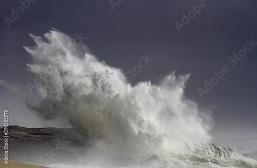 Fotografija Sea invading the coast