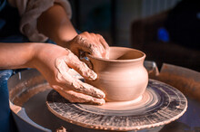 Production Process Of Pottery....