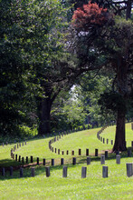 Historical Cemetery In The Metro Atlanta Area