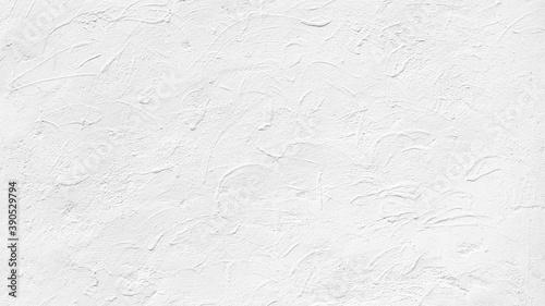 こて跡の質感のある白くペイントされた壁の背景テクスチャー