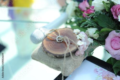 Papel de parede 結婚式の指輪交換