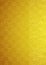 和紙に金色で描かれた...