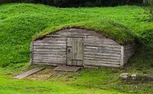 Old Wooden Cellar In Hill Cove...