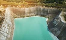 Quarry Landscape Aerial View