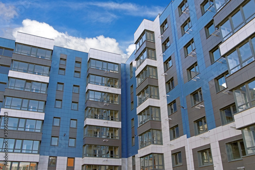 Foto Modern panel apartment building