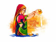Illustration Of Indian Women H...
