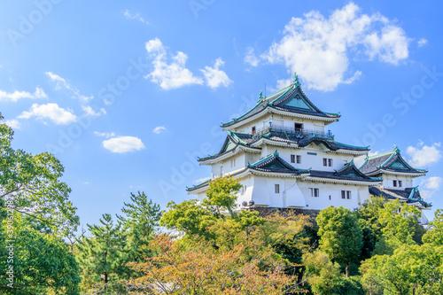 和歌山城 和歌山県和歌山市 Wakayama  castle Wakayama-ken Wakayama city Fototapeta