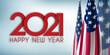 Unbenannt-2 KoHappy new Year 2021 USA Flagpie