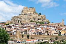 City Of Morella, Province Of Castellón,, Spain