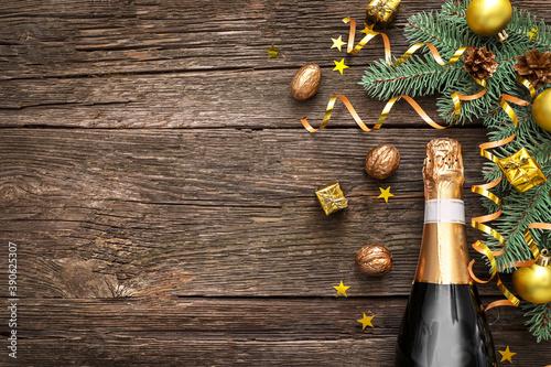 Fotografiet Celebration of New Year 2021