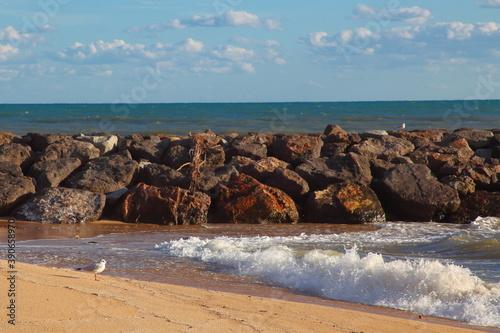 paisajes con vistas al mar y horizonte