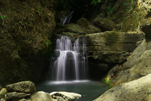 Mystical Waterfall Inside The ...