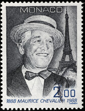 Maurice Chevalier On Postage S...