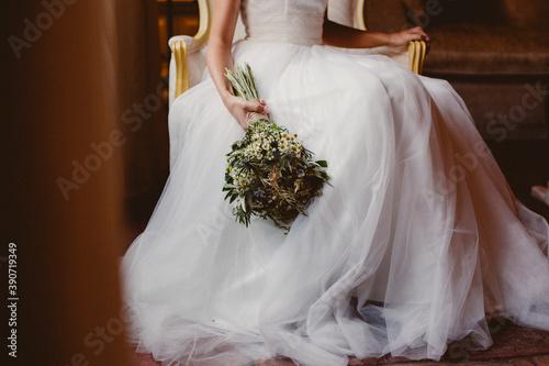 Fotografia wedding bridal dress bouquet