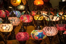 Many Oriental Lamps Detail .