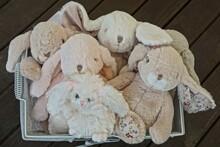 Many Of Soft Plush Toys Pink A...