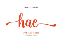 HAE Lettering Logo Is Simple, Easy To Understand And Authoritative