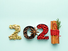 2021 Concept. New Year 2021 Nu...