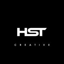 HST Letter Initial Logo Design Template Vector Illustration