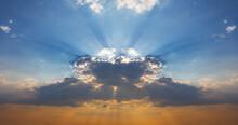 Dense Cumulus Clouds With Even...