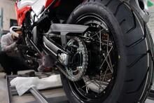 Suzuki Motorrad Bremsen Garagae Reifen