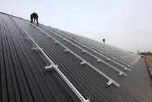 Vorbereitung Montage Solar