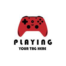 Controller Games Logo Vector Illustration Design