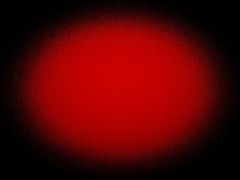 Red And Black Oval Gradient Fa...