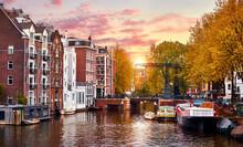 Amsterdam, Netherlands. Panora...