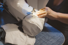 Handmade Mask Sewing From The ...