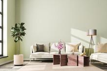 Interior Scene: Living Room Wi...