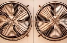 Double Refrigerator Fan